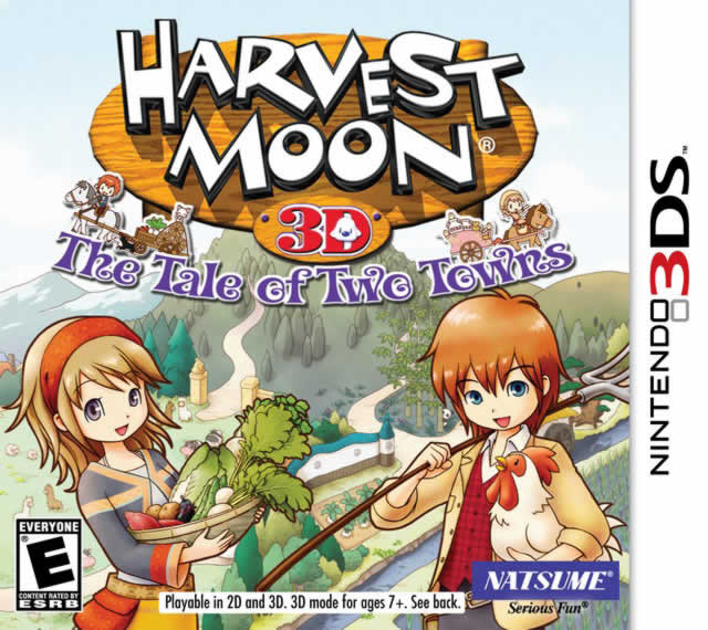Harvest Moon: Tale of Two Cities Box Art