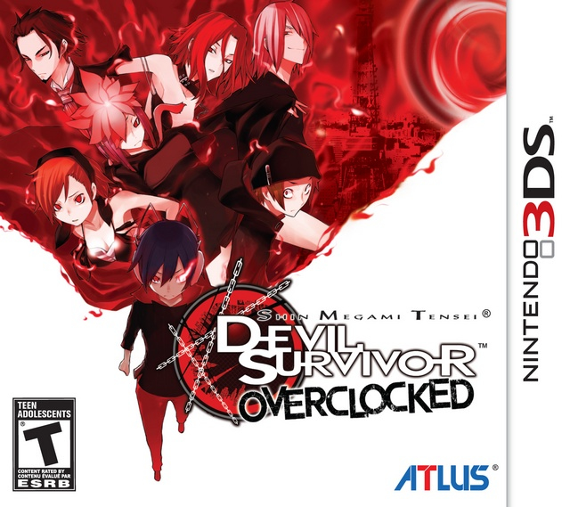 Shin Megami Tensei Devil Survivor Overclocked Box Art