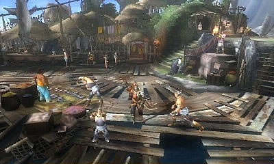 Monster Hunter 3G Screenshot